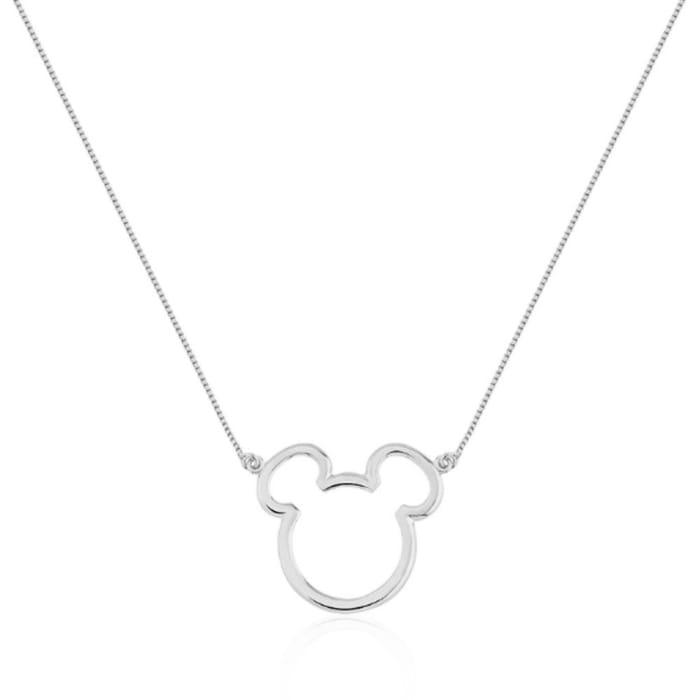 Colar Mickey em Prata 950 (0)