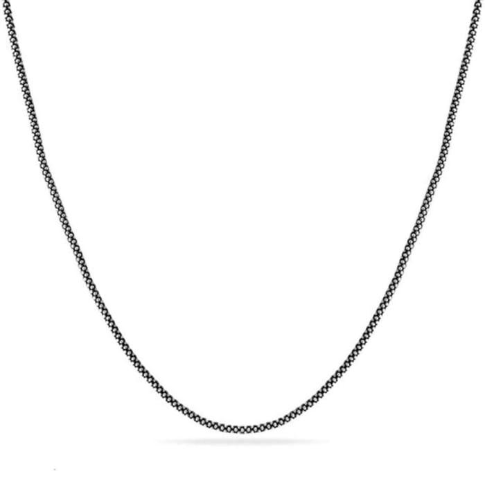 Corrente Pipoca de Prata Envelhecida 925 - Ver Tamanhos (0)
