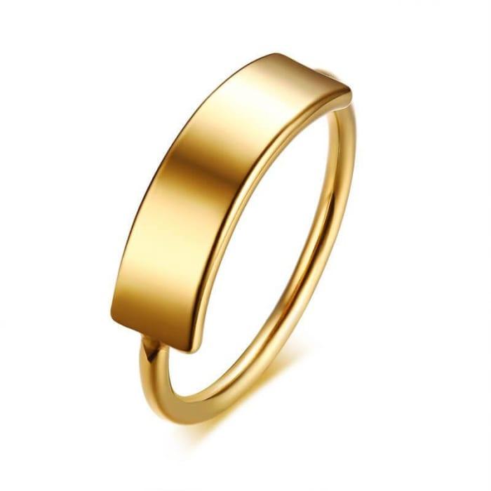 Anel de Ouro 18k 750 Feminino em Promoção (0)