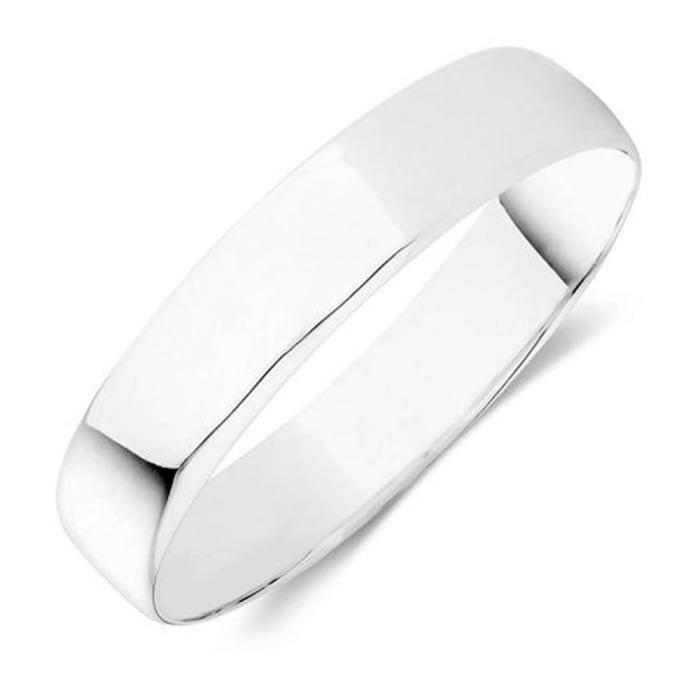 Bracelete de Prata Largo em Prata 950  (0)