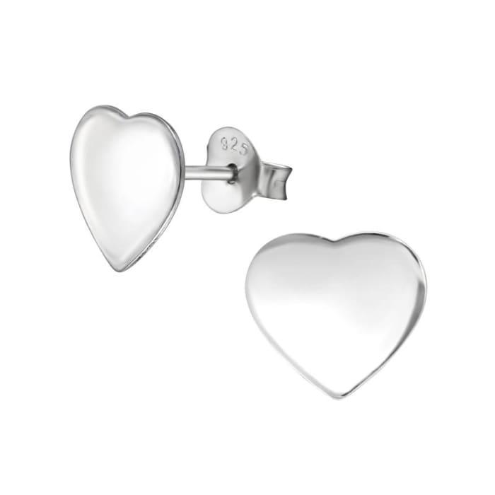 Brinco de Coração Prata 925 (0)