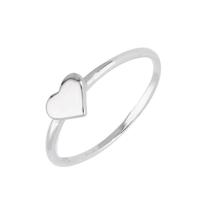 Anel de Coração Prata 950 (0)