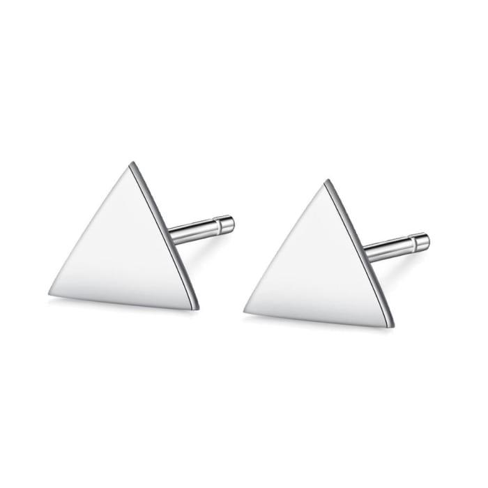 Brinco Triangulo Pequeno em Prata 950 (0)