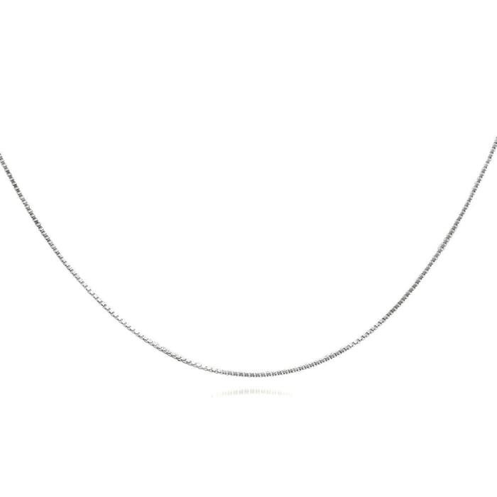 Corrente Veneziana Prata 60 cm Feminina (0)