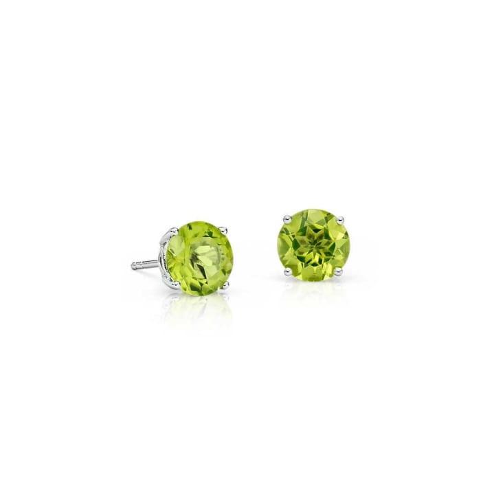 Brinco Pedra Verde em Prata 925 (0)